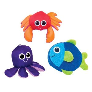 At Amazon: Sassy Soft Swimmers Bath Toy, 3 Pack