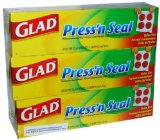 Add a mostly-spillproof lid to any cup with Glad Press'n Seal wrap