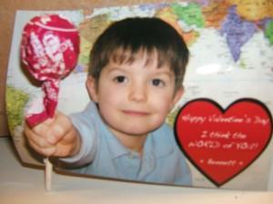 Optical Illusion Lollipop Valentine! Easy!