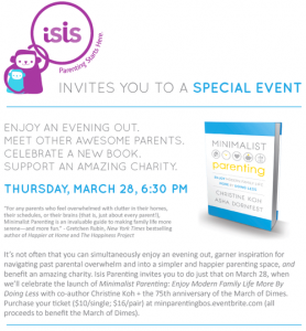 Boston! It's a book launch party!