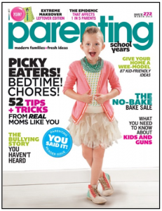 Parent Hacks highlighted in March issue of Parenting magazine