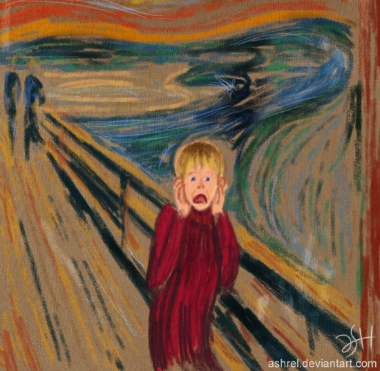 The Scream: Alone by Ashrel