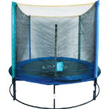 At Amazon: Pure Fun 8-Foot Trampoline and Enclosure Set (affiliate link)