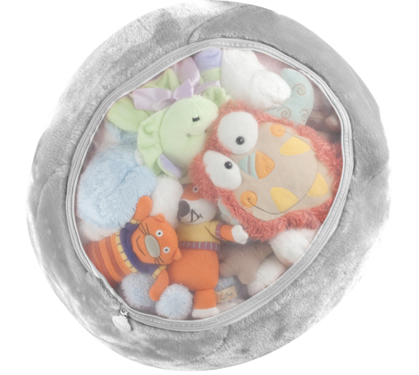 Stuffed animal storage: Boon Animal Bag