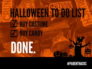 Not ready for Halloween? Here's your 2-item to-do list.