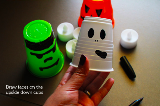 DIY Halloween lanterns (Photo credit: Tracey/Australian Baby Blog)